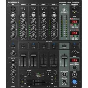 Hola! Behringer Pro Mixer Djx-750 De 4 Canales