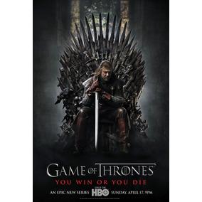 Dvd Game Of Thrones 1ª A 6ª Temporada + Frete Grátis