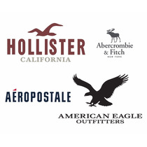 Lote Ropa Hombre Aeropostale American Hollister 25 Pzs Invie