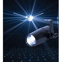 Spot Led Pin Beam 3w Globo Espelhado 4 Cores Disponível