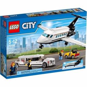 Lego City 60102 Aeropuerto Servicio Vip Avion Mundo Manias