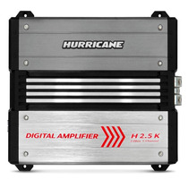 Modulo Amplificador Hurricane Hd2500 Digital 2500w Rms 1 Ch