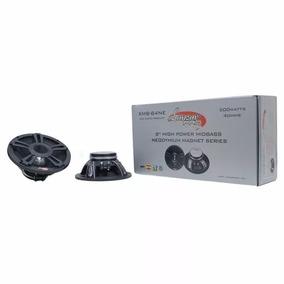 Medios Lanzar Pro Neodimio 8 4ohm 500 Watts/ Ferritas