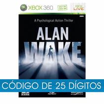 Alan Wake Xbox 360 One Original Midia Digital