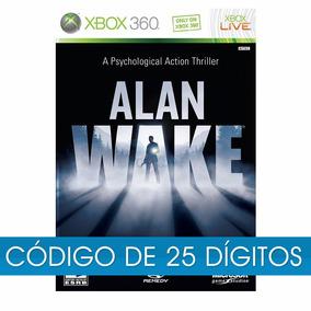 Alan Wake Xbox 360 One Original Código 25 Digitos