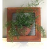 Jardim Horta Vertical Vaso Meia Lua Para Suas Flores E Horta