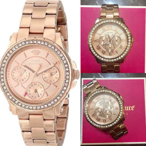Reloj Juicy Couture Gold Rose Wjc 1581