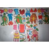 Set Recortables Dinosaurios Familia Sinclair De Los 90
