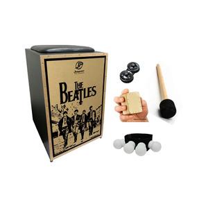 Kit Cajon Jaguar Acústico Inclinado K2 Beatles Pb