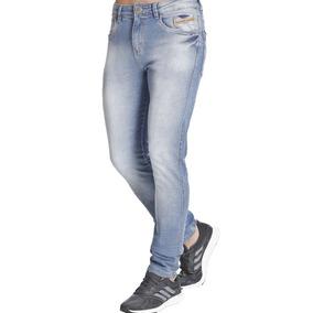 Blue Denim Calça Jeans Slim