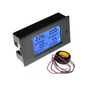 Medidor De Energia Watimetro 80-260vac Y 100a - Envio Gratis