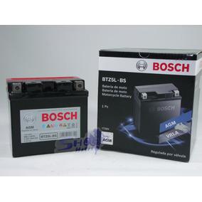 Bateria Bosch Em Gel Para Moto Honda Titan 150 Mix 2013 5ah