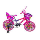 Bicicleta Para Niña Cross Rin 20 Con Kit