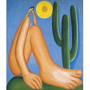 Foto Hd Gravura Tarsila Do Amaral 60x75cm Para Decorar Casa