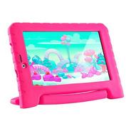 Tablet Kid Pad Multilaser 3g Plus Rosa 16gb 7'' 1.3mp Nb292