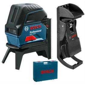 Nível À Laser De Linhas Gcl 2-15 Maleta +kit Completo Bosch