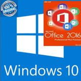 Windows 10 & Office 2016 Licenciamiento 100% Genuino. 1 Pc.