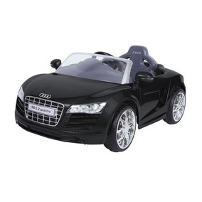 Auto A Bateria Audi R8 Negro Outlet Con Detalles