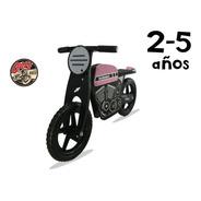 Camicleta Tipo Moto Cafe Racer Bici Balance Bicicleta Madera