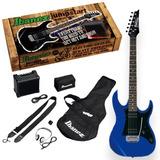 Pack De Guitarra Eléctrica Ibanez Ijrx20u Azul 12 Cuotas