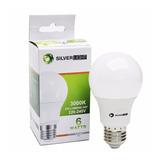 Lampara Led 6w E27 Bulbo 220v Bajo Consumo Luz Fria