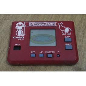Antiguo Juego Electronico Casio Cg 90, Funny Circus