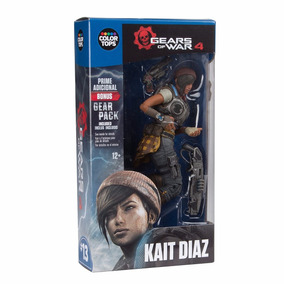 Boneco Color Tops Mcfarlane Gear Of War 4 - Kait Diaz