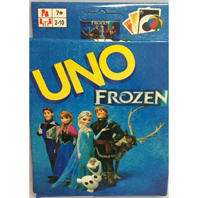 Jogo De Cartas Uno - Frozen Presente Brinquedo