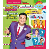 Vamos A La Estacion Colores - Junior Express Cuento Memotest