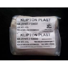 2 Kg De Platilina Epoxica, Klipton Plast, Envio Incluido.