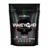 Whey4hd 2.2kg Refil - Black Skull Concentrada + Isolada