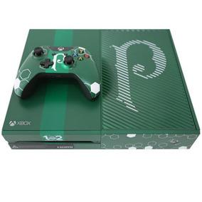 Xbox One Edição Limitada Palmeiras