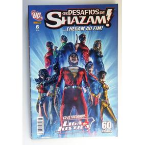 Os Desafios De Shazam! ...chegam Ao Fim! Dc Panini Comics
