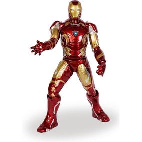 Boneco Homem De Ferro Com Reator Gigante 48cm - Mimo