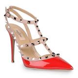 Sapato Feminino Valentino Rockstud 6 Cores - Envio Imediato