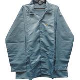 Jaleco Anti Estático Esd Branco, Azul P,m,g