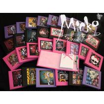 10 Anotadores Monster High Souvenirs Tapa Dura! C/ Lap.