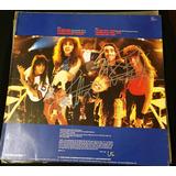 Vinil Anthrax Autografado Scott Ian & Joey Belladonna