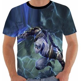 Camiseta Game League Of Legends Zed Lâmina Do Trovão Lol