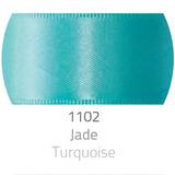 Fita De Cetim Face Simples N°2 Verde Jade 10m. 1102