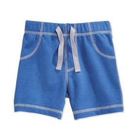 Shorts First Impressions Niño 24 Meses Color Azul