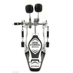 Pedal De Bumbo Duplo Iron Cobra Hp200ptw - Tama Hp-200ptw