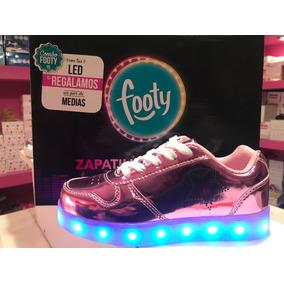 Zapatillas Footy Con Luz Led