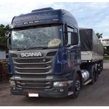 Scania R420 Highline 6x2 Carreta Vandeleia Randon Graneleira