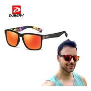 Óculos De Sol Masculino Quadrado + Proteção Uv + Nf