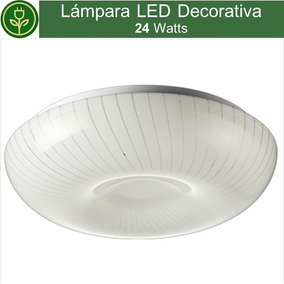 Luminaria Decorativa 24w Sobreponer Techo Foco Cocina