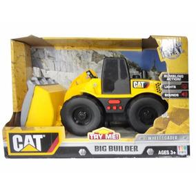 Vehículo De Construcción Big Builder Luces Y Sonidos - Cat