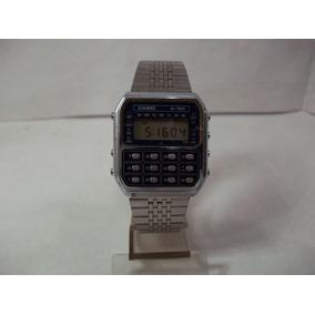 5c3913a8717 Relógio Casio Raro Calculadora Anos 80 Back To The Future - Relógios ...
