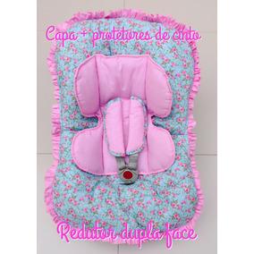 Capa De Bebê Conforto Com Redutor E Protetor De Cinto