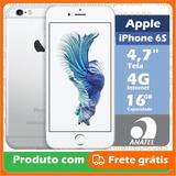 Iphone Apple 6s 16gb A1688 Lacrado Garantia Apple +1 Brinde
